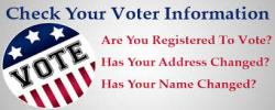 Check your Voter Information