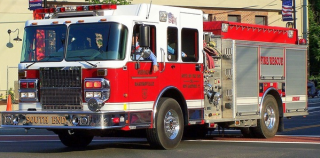 South End Fire Engine