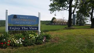 Bakersville - Enjoy the View Sign