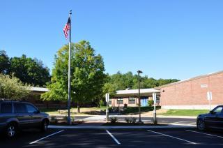 Parking Circle at Ann Antolini School