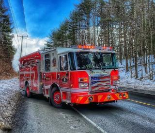 New Hartford Fire & Rescue Truck